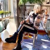 Chic&Rock💣💣💣da @joanna_boutique e on line www.joannaboutique.com  Giacca Cher Myes Pantaloni ecopelle @shopartonline  Boots Cinzia Araia  . . #joannaboutique #bedifferent #fashion #fashionstyle #me #ootd #ootdfashion #style #styleinspiration #rockstyle #urban #streetstyle #street #moodoftheday #outfitinspiration #outfit #comfy #blackandwhite #instafashion #goodvibes