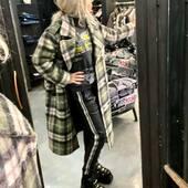 Cappotto tartan/militare più pantaloni di pelle stile jogging per l'#outfit di oggi💚🤍🖤   🔥-40%🔥  Cappotto @front_street8  Pantaloni pelle @vintagedeluxe_it  Scarpe @newrock   #joannaboutique #bedifferent #fashion #fashionstyle #instafashion #fashionista #fashionable #fashionaddict #fashiongram #ootd #ootdfashion #rock #tartan #military #glamour #glamchic #shoppingonline #sale #urbanoutfit #streetstyle #madeinitaly #comfy #picoftheday