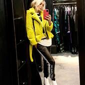 Morbidissimo questo chiodo in eco pelliccia abbinato ai pantaloni in eco pelle 🖤💛 da @joanna_boutique e on line www.joannaboutique.com  Chiodo @shopartonline  Pantaloni @shopartonline  Texani @mexicanaboots  Maglia @brandunique  . . . #joannaboutique #bedifferent #comfy #fashion #instafashion #fashiononline #style #styleinspiration #fashionista #instalook #inspiration #mylook #mylooktoday #urbanoutfit #outfitoftheday #me #woman #ootdfashion #ootd #rockstyle #